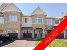 Barrhaven Townhouse for rent:  3 bedroom  (Listed 2017-10-01)