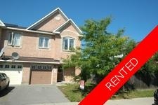 Barrhaven Townhouse for rent:  3 bedroom  (Listed 2019-04-01)