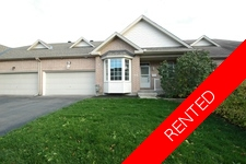 Kanata/Katimavik Townhome for rent: 3 bedroom (Listed 2016-11-01) Short Term Rental Available