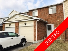 Barrhaven Condo Townhouse for rent:  3 bedroom  (Listed 2017-04-01)
