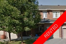 Barrhaven Townhouse for rent:  3 bedroom  (Listed 2017-08-01)